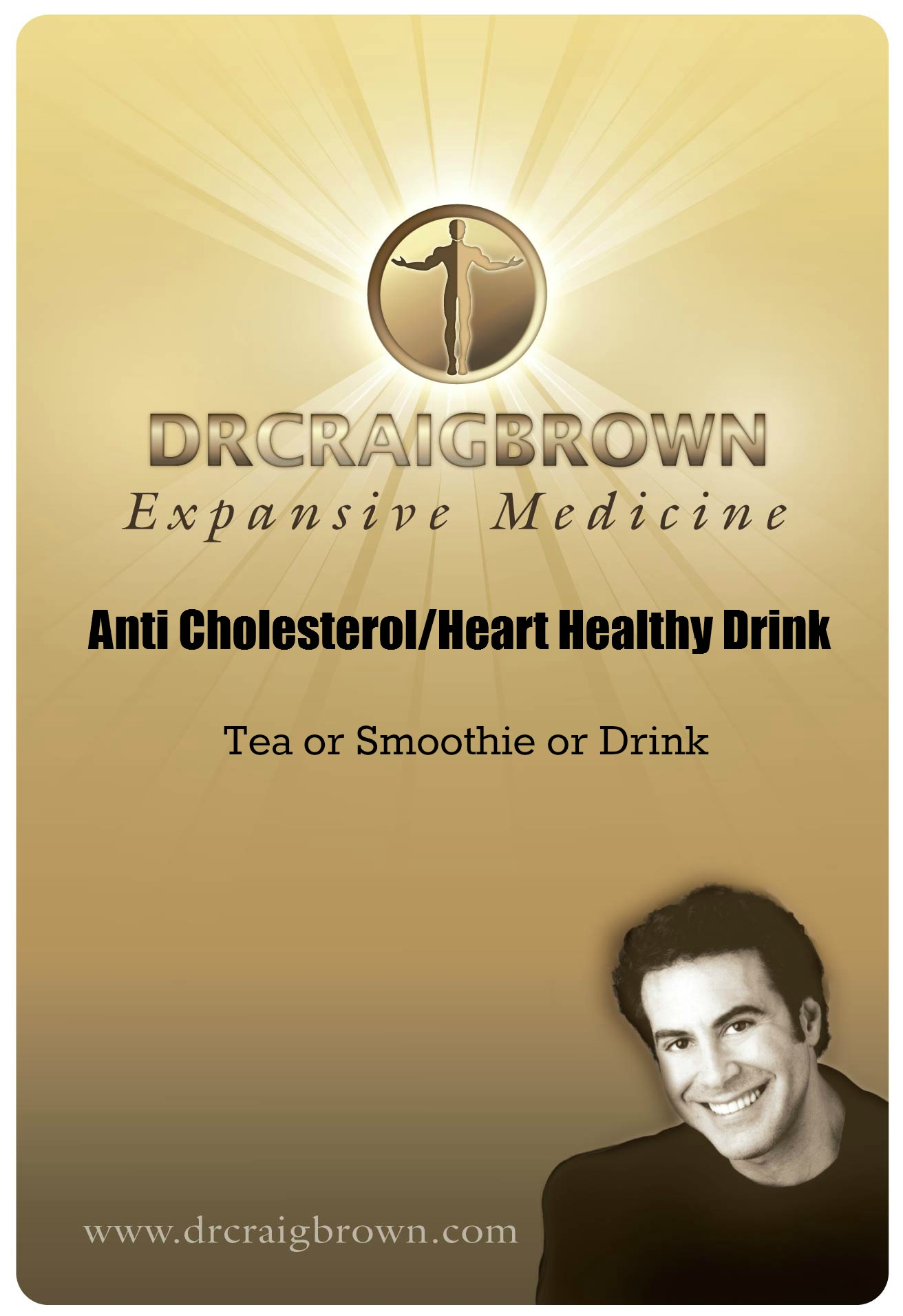 Anti Cholesterol Heart Healthy Drink foil bagsticker Bestest